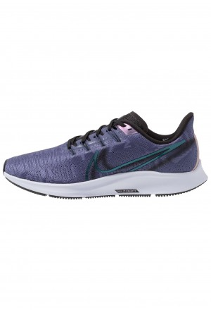Nike AIR ZOOM PEGASUS 36 PRM RISE - Hardloopschoenen neutraal sanded purple/black/midnight turq/ghost/oil greyNIKE101701