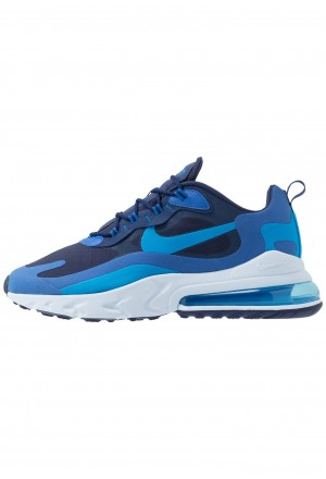 Nike AIR MAX 270 REACT - Sneakers laag blue void/blue stardust/coastal blue/topaz mist/photo blueNIKE202296