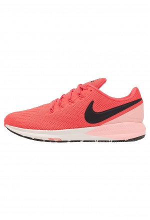Nike AIR ZOOM STRUCTURE  - Stabiliteit hardloopschoenen ember glow/oil grey/bleached coral/summit whiteNIKE101663