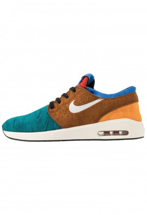 Nike SB AIR MAX JANOSKI 2 - Sneakers laag geode teal/pale ivory/light british tan/kumquat/mystic red/pacific blueNIKE202312
