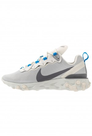 Nike REACT - Sneakers laag light bone/dark grey/metallic silverNIKE202526