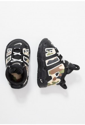 Nike AIR MORE UPTEMPO QS - Sneakers hoog blackNIKE303508