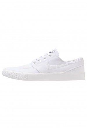 Nike SB ZOOM JANOSKI - Sneakers laag white/light brown/black/photo blue/hyper pinkNIKE202434