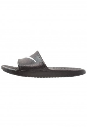 Nike KAWA SHOWER - Badslippers black/whiteNIKE202695