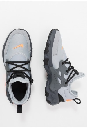 Nike REACT PRESTO - Sneakers laag wolf grey/total orange/dark grey/blackNIKE303316