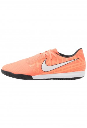 Nike PHANTOM ACADEMY IC - Zaalvoetbalschoenen bright mango/white/orange pulse/anthraciteNIKE203001