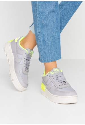 Nike AF1 SHADOW - Sneakers laag atmosphere grey/light orewood brown/voltNIKE101367