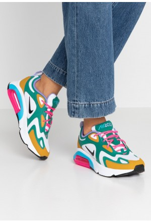 Nike AIR MAX 200 - Sneakers laag mystic green/white/gold/light current blue/pink blast/medium violetNIKE101270