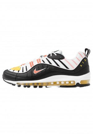 Nike AIR MAX 98 - Sneakers laag black/brigt crimson/white/chrome yellowNIKE202329