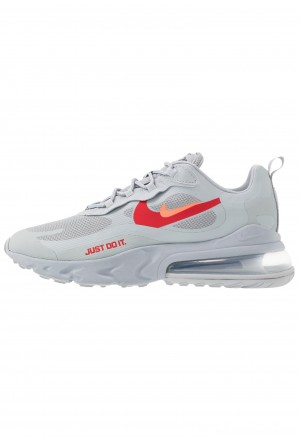 Nike AIR MAX 270 REACT - Sneakers laag wolf grey/hyper crimson/university red/anthraciteNIKE202360