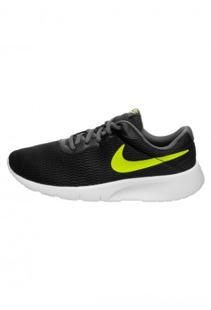 Nike TANJUN - Sneakers laag black/volt/dark grey/whiteNIKE303497
