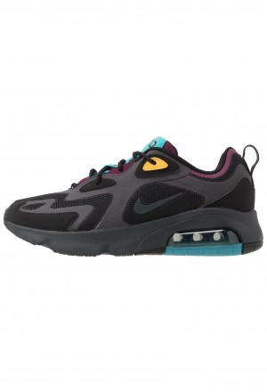 Nike AIR MAX 200 - Sneakers laag black/anthracite/bordeaux/university gold/tealNIKE101271