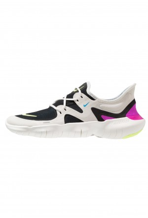 Nike FREE RN - Loopschoen neutraal summit white/volt glow/black/blue heroNIKE202847