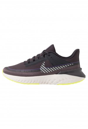 Nike LEGEND REACT SHIELD - Hardloopschoenen neutraal oil grey/reflect silver/thunder greyNIKE101678