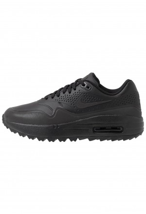Nike Golf AIR MAX 1 - Golfschoenen black/metallic silverNIKE101913
