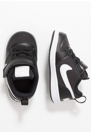 Nike COURT BOROUGH LOW - Sneakers laag black/whiteNIKE303324