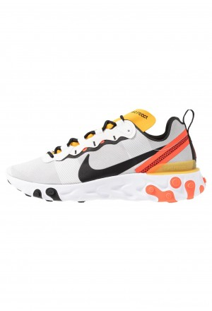 Nike REACT 55 - Sneakers laag white/black/bright crimson/universe goldNIKE202562