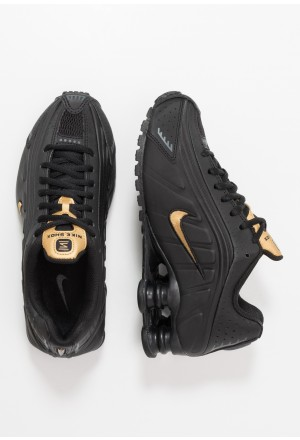 Nike SHOX R4 - Sneakers laag black/metallic gold/anthraciteNIKE303124