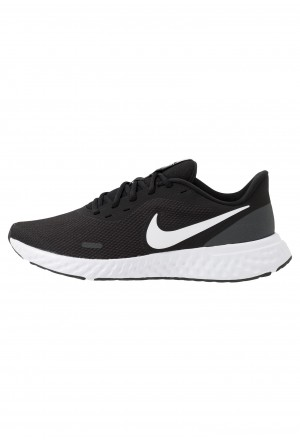Nike REVOLUTION  - Hardloopschoenen neutraal black/white/anthraciteNIKE202731