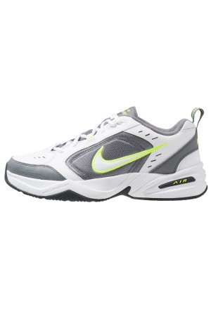 Nike AIR MONARCH IV - Sneakers laag white/white /cool greyNIKE202277