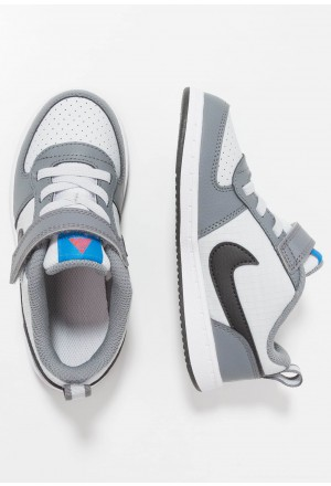 Nike COURT BOROUGH  - Babyschoenen cool grey/anthracite/pure platinum/photo blueNIKE303146