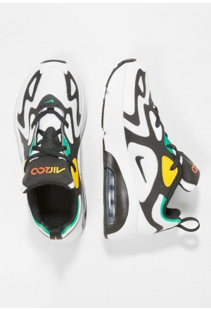 Nike AIR MAX 200 - Sneakers laag white/black/bright crimson/university goldNIKE303220