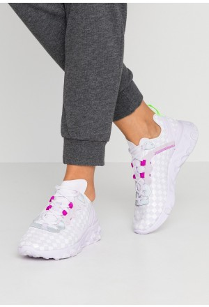 Nike REACT ELEMENT 55 - Sneakers laag barely grape/hyper violet/electric greenNIKE101538
