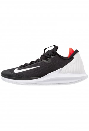 Nike AIR ZOOM HC - Tennisschoenen voor alle ondergronden black/white/bright crimsonNIKE203115