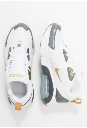 Nike AIR MAX 200  - Sneakers laag white/metallic gold/cool grey/anthraciteNIKE303344