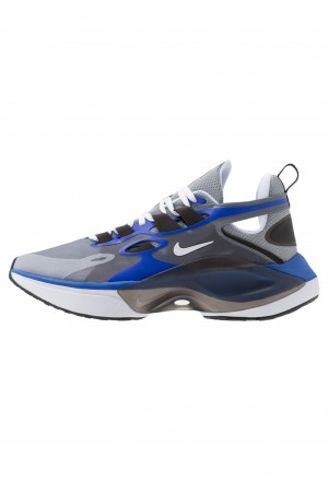 Nike SIGNAL D/MS/X - Sneakers laag particle grey/white/racer blue/blackNIKE202396