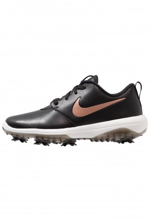 Nike Golf ROSHE G TOUR - Golfschoenen black/metallic red bronze/summit whiteNIKE101757