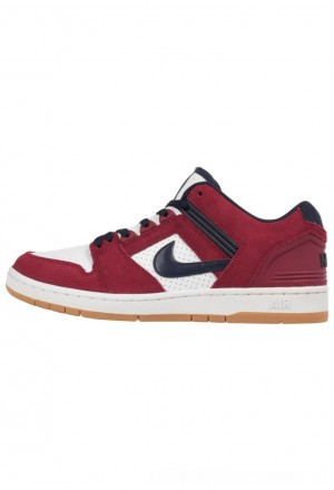 Nike SB AIR FORCE II  - Sneakers laag redNIKE202359