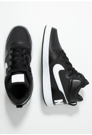 Nike COURT BOROUGH MID - Sneakers hoog black/whiteNIKE303409