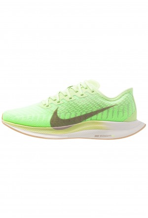 Nike ZOOM PEGASUS TURBO 2 - Hardloopschoenen neutraal lab green/pumice/electric green/vapor green/phantom/bio beigeNIKE101616