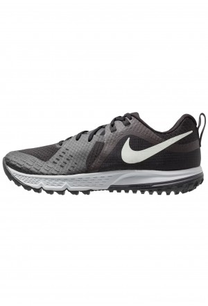 Nike AIR ZOOM WILDHORSE 5 - Trail hardloopschoenen black/barely grey/thunder grey/wolf greyNIKE202825