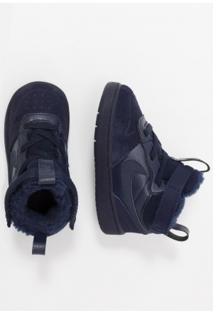 Nike COURT BOROUGH MID WINTERIZED  - Babyschoenen blue void/blue stardust/coast/topaz mist/photo blueNIKE303211