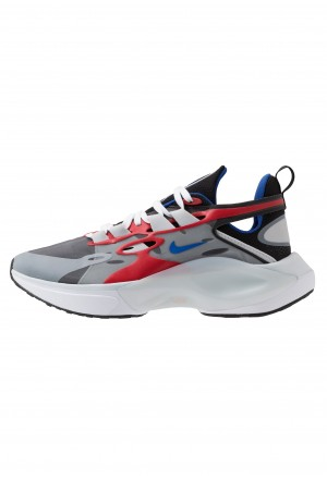 Nike SIGNAL D/MS/X - Sneakers laag black/game royal/universe red/pure platinum/whiteNIKE101435
