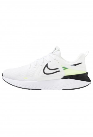 Nike LEGEND REACT  - Hardloopschoenen neutraal white/black/electric green/vapor green/phantomNIKE202929