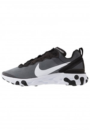 Nike REACT 55 SE - Sneakers laag black/whiteNIKE202338