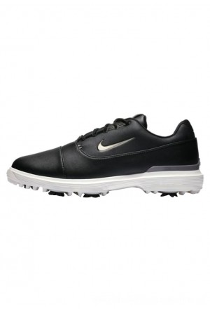 Nike Golf AIR ZOOM VICTORY PRO - Golfschoenen black/off-white/metallic greyNIKE202914