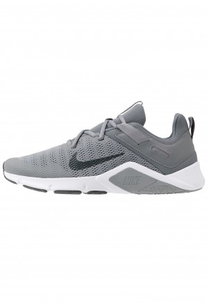 Nike LEGEND ESSENTIAL - Sportschoenen smoke grey/dark smoke grey/particle greyNIKE101848