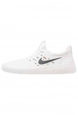 Nike SB NYJAH FREE - Skateschoenen summit white/anthracite/lemon washNIKE101467