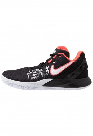 Nike KYRIE FLYTRAP II - Basketbalschoenen black/white/bright crimsonNIKE202743