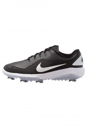 Nike Golf REACT VAPOR  - Golfschoenen black/metallic whiteNIKE203118