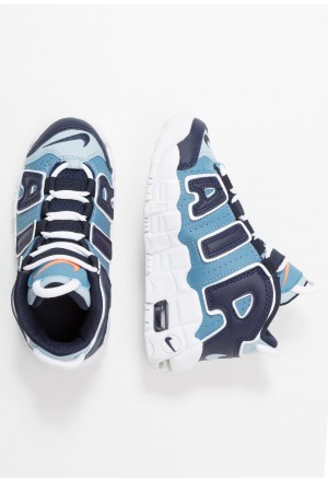 Nike AIR MORE UPTEMPO - Sneakers hoog blueNIKE303424
