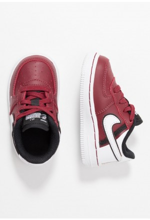 Nike FORCE 1 LV8  - Sneakers laag team red/white/blackNIKE303425