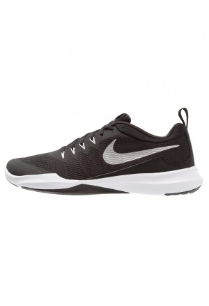 Nike LEGEND TRAINER - Sportschoenen black/metallic silver/whiteNIKE202741