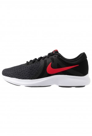 Nike REVOLUTION - Trail hardloopschoenen black/university red/oil grey/whiteNIKE202761
