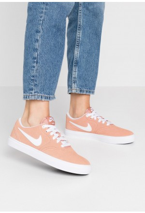 Nike SB CHECK SOLAR - Sneakers laag rose gold/whiteNIKE101398