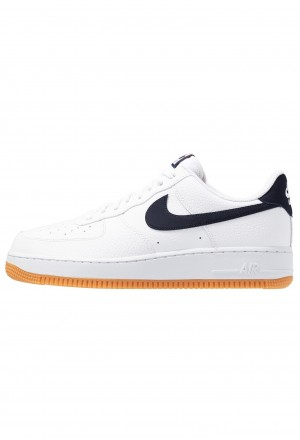 Nike AIR FORCE 1 '07 - Sneakers laag white/obsidian/university red/medium brownNIKE202390